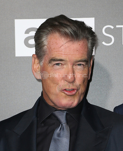 "HOLLYWOOD, CA - April 03: Pierce Brosnan, At AMC's ""The SON"" Premiere in LA At ArcLight Hollywood  In California on April 03, 2017. Credit: FS/MediaPunch"