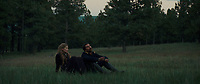 Hostiles (2017) <br /> Rosamund Pike and Christian Bale<br /> *Filmstill - Editorial Use Only*<br /> CAP/KFS<br /> Image supplied by Capital Pictures