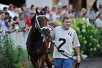 Circle Unbroken in the paddock before the G3 Bashford Manor Stakes at Churchill Downs in Louisville, Kentucky Saturday June 30, 2012.
