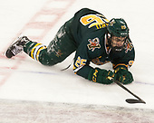 Matt Alvaro (UVM - 25) - The visiting University of Vermont Catamounts tied the Boston College Eagles 2-2 on Saturday, February 18, 2017, Boston College's senior night at Kelley Rink in Conte Forum in Chestnut Hill, Massachusetts.Vermont and BC tied 2-2 on Saturday, February 18, 2017, Boston College's senior night at Kelley Rink in Conte Forum in Chestnut Hill, Massachusetts.