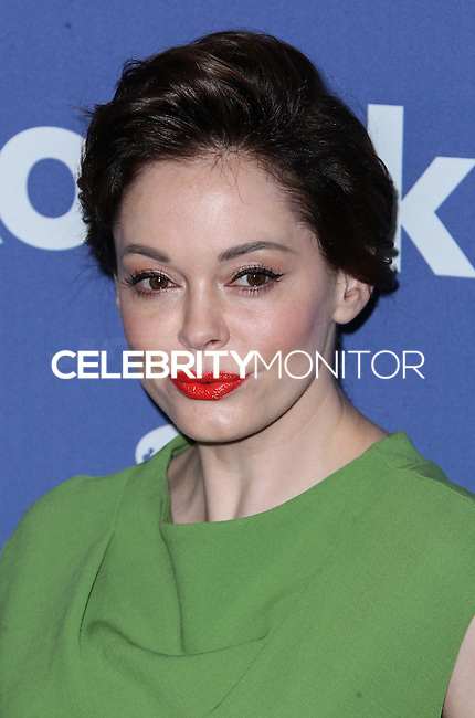 BEVERLY HILLS, CA- JUNE 12: Rose McGowan arrives at the Women In Film's 2013 Crystal + Lucy Awards at The Beverly Hilton Hotel on June 12, 2013 in Beverly Hills, California. (Photo by Celebrity Monitor)