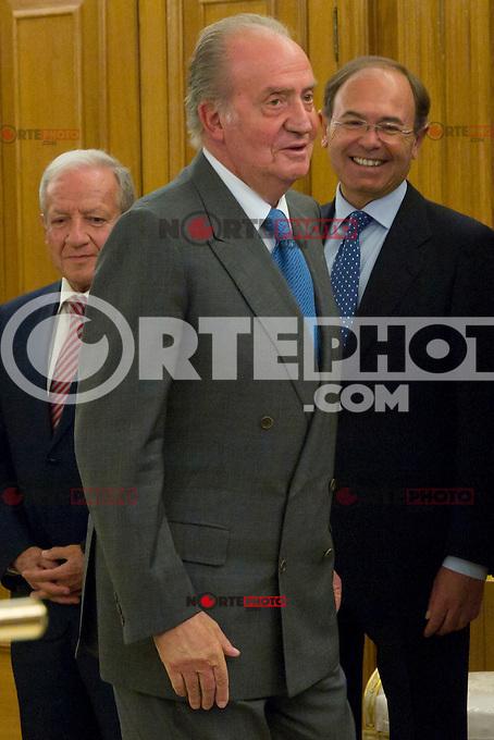 30.07.2012. King Juan Carlos I of Spain attends the promise of the President of the Court of Auditors, Ramon Alvarez de Miranda Garcia, at the Royal Palace of La Zarzuela. In the image King Juan Carlos (Alterphotos/Marta Gonzalez) *NortePhoto.com<br /> <br />  **CREDITO*OBLIGATORIO** *No*Venta*A*Terceros*<br /> *No*Sale*So*third* ***No*Se*Permite*Hacer Archivo***No*Sale*So*third*&copy;Imagenes*con derechos*de*autor&copy;todos*reservados*.