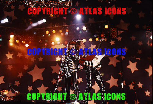 Scorpions; Klaus Meine; Moscow Music Peace Festival; August 12, 13, 1989;<br /> Photo Credit: Eddie Malluk/Atlas Icons.com