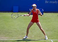 Daniela Hantuchova (SVK) against Anne Keothavong (GBR) in the first round of the women's singles. Daniela Hantuchova beat Anne Keothavong 6-2 6-4..International Tennis - 2010 Sony Ericsson WTA Tour - AEGON International - Devonshire Park Lawn Tennis Centre - Eastbourne - Day 1 - Mon 14 Jun 2010..© FREY - AMN Images - Level 1, 20-22 Barry House, 20-22 Worple Road, London, SW19 4DH.Tel - +44 (0) 208 947 0100.Email - mfrey@advantagemediannet.com.web - www.advantagemedianet.com