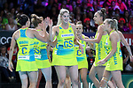 29/10/17 Fast5 2017<br /> Fast 5 Netball World Series<br /> Hisense Arena Melbourne<br /> 3/4 Australia v New Zealand<br /> <br /> <br /> <br /> Photo: Grant Treeby