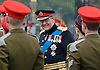 13.10.2006; Ayr, Scotland: GERALD GROSVENOR, DUKE OF WESTMINSTER<br /> Major General reviewing the Royal Mercian and Lancastrian Yeomanry before presenting them with their new Guidon.<br /> Mandatory Photo Credit: &copy;MoD/NEWSPIX INTERNATIONAL<br /> <br /> IMMEDIATE CONFIRMATION OF USAGE REQUIRED:<br /> Newspix International, 31 Chinnery Hill, Bishop's Stortford, ENGLAND CM23 3PS<br /> Tel:+441279 324672  ; Fax: +441279656877<br /> Mobile:  07775681153<br /> e-mail: info@newspixinternational.co.uk<br /> Please refer to usage terms. All Fees Payable To Newspix International