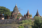 Temples Along The Ayeyarwady River