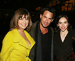 AMC's Bobbie Eakes, Ricky Paull Goldin and Eden Riegel pose at the ABC Daytime Casino Night on October 23, 2008 at Guastavinos, New York CIty, New York. (Photo by Sue Coflin/Max Photos)