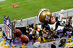 NFL International Series.<br /> San Diego Chargers vs New Orleans Saint.<br /> Celebrating New Orleans Carnival.<br /> Saintsations Cheers.