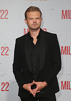 "9 August 2018-  Westwood, California - Nikolai Nikolaeff. Premiere Of STX Films' ""Mile 22"" held at The Regency Village Theatre. Photo Credit: Faye Sadou/AdMedia"