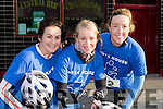 Martina McAulliffe, Lauren Doorley and Gretta Maher who competed in the Castleisland The Longest Day challenge on Saturday