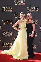 Amanda Holden &amp; Tracy Anne Oberman at The Olivier Awards 2017 at the Royal Albert Hall, London, UK. <br /> 09 April  2017<br /> Picture: Steve Vas/Featureflash/SilverHub 0208 004 5359 sales@silverhubmedia.com