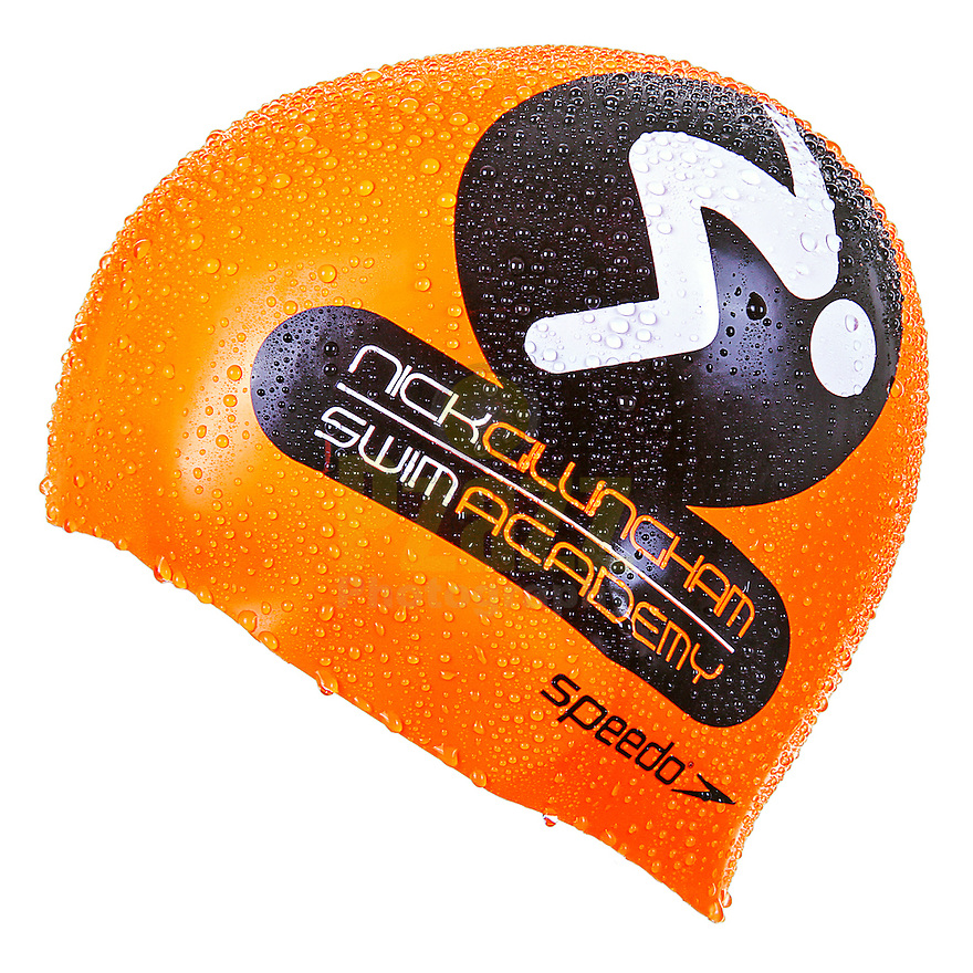 Product Photograph of Nick Gillingham Swim Academy Silicone Cap