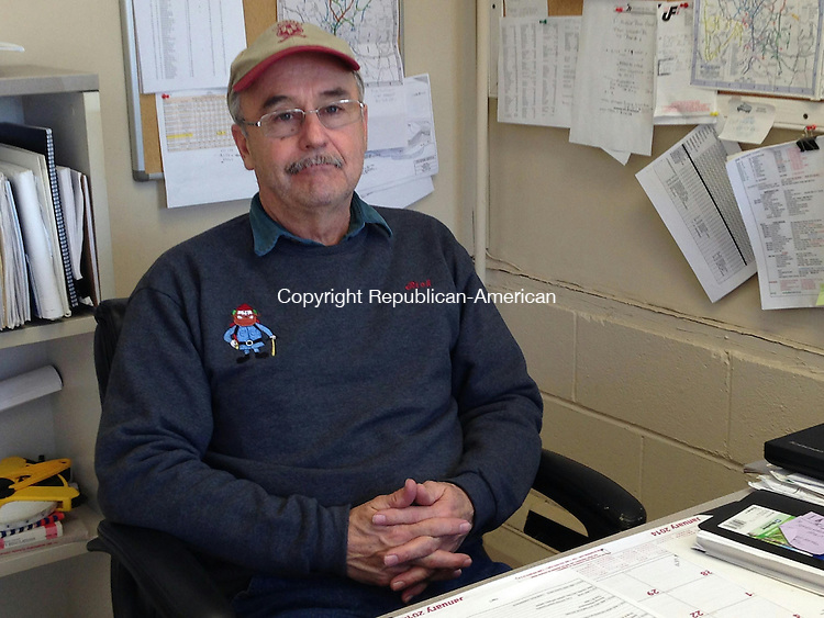 WOODBURY, CT - 22 Jan 2014 - 012214RH01 - The Board of Selectmen have named Rich Lamothe as the new director of the Department of Public Works in Woodbury. Lamothe had been serving as the interim director following the sudden resignation in November. Rick Harrison Republican-American