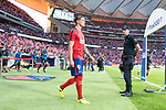 Atletico de Madrid's Fernando Torres for the first time at Wanda Metropolitano during La Liga match between Atletico de Madrid and Malaga CF at Wanda Metropolitano in Madrid, Spain September 16, 2017. (ALTERPHOTOS/Borja B.Hojas)