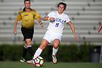 11 September 2016: Duke's Kat McDonald. The Duke University Blue Devils hosted the High Point University Panthers at Koskinen Stadium in Durham, North Carolina in a 2016 NCAA Division I Women's Soccer match. Duke won the match 4-1.