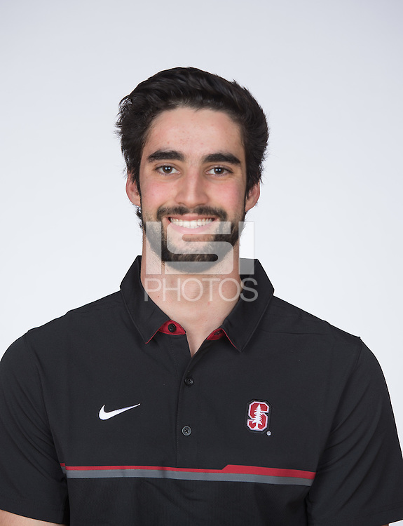 Stanford, Ca - Thursday, Dec 8, 2016: Stanford Men's Gymnastics Portraits and Team Photo 2016.