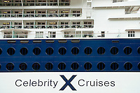 Celebrity Cruise ship detail.