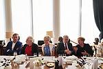 Germany, Berlin, 2018/05/28<br /> <br /> Verleihung des Scopus Award an Henryk M. Broder am 28/5/2018. V.l.: Matthias Döpfner, Henryk M. Broder, Friede Springer, Joachim Gauck. (Photo by Gregor Zielke)