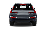 Straight rear view of 2020 Volvo XC60 Inscription 5 Door SUV Rear View  stock images