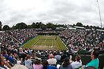 Mcc0032212 . SundayTelegraph..Maria Sharapova vs Klara Zakopalova on court 2..The sixth day of The Lawn Tennis Championships at Wimbledon..24 June 2011 Wimbledon