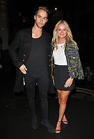 Julius Cowdrey and Ella Wills at the LFW s/s 2018 Vin + Omi catwalk show &amp; afterparty, Andaz Liverpool Street Hotel, Liverpool Street, London, England, UK, on Monday 11 September 2017.<br /> CAP/CAN<br /> &copy;CAN/Capital Pictures