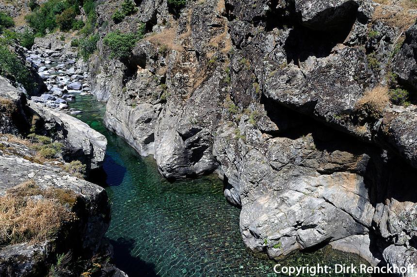 Stranciacone = Oberlauf des Asco im Asco-Tal, Korsika, Frankreich