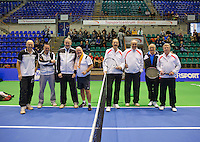 Rotterdam, Netherlands, December 20, 2015,  Topsport Centrum, Lotto NK Tennis, KNLTB rematch.<br /> Photo: Tennisimages/Henk Koster