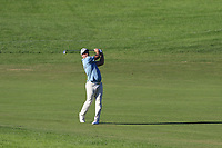 Ryan Fox (NZL) plays his 2nd shot on the 17th hole during Thursday's Round 1 of the 2018 Turkish Airlines Open hosted by Regnum Carya Golf &amp; Spa Resort, Antalya, Turkey. 1st November 2018.<br /> Picture: Eoin Clarke | Golffile<br /> <br /> <br /> All photos usage must carry mandatory copyright credit (&copy; Golffile | Eoin Clarke)