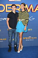 Tom Holland &amp; Zendaya at the 'Spider-Man: Homecoming' photocall at The Ham Yard Hotel, London, UK. <br /> 15 June  2017<br /> Picture: Steve Vas/Featureflash/SilverHub 0208 004 5359 sales@silverhubmedia.com
