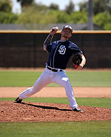 Mason Fox - San Diego Padres 2019 extended spring training (Bill Mitchell)