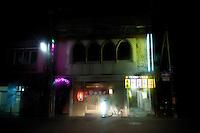 A night landscape view of a bar during reconstruction efforts following the 311 Tohoku Tsunami in Miyako, Japan  © LAN