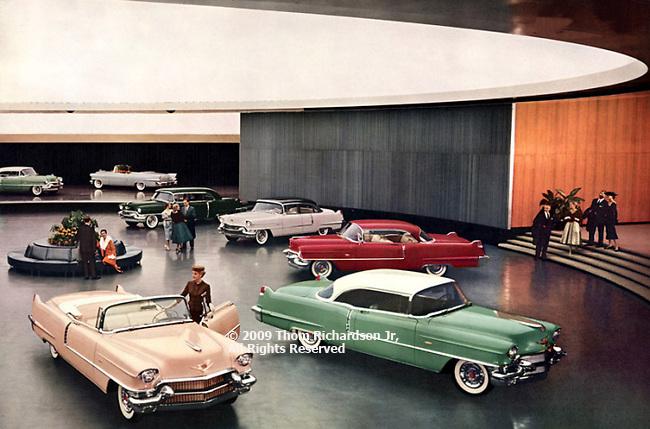 Cadillac Showroom