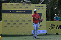 Marcel Siem (GER) in action on the 7th during Round 3 of the Maybank Championship at the Saujana Golf and Country Club in Kuala Lumpur on Saturday 3rd February 2018.<br /> Picture:  Thos Caffrey / www.golffile.ie<br /> <br /> All photo usage must carry mandatory copyright credit (© Golffile | Thos Caffrey)