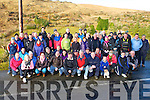 Rathmore walkers at the start of their walk at Clonkeen on Saturday