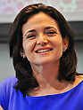 "July 2, 2013, Tokyo, Japan - Chief Operating Officer of Facebook, Sheryl Sandberg attends a press conference for ""Lean in"" Japanese edition in Tokyo, Japan on July 2, 2013. (Photo by AFLO)"