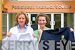 In a bid to help parents save costs this year on the expense of school items a second hand school uniform has been organised by the Parents Association of Pobailscoil Inbhear Sceine in Kenmare. .L-R Chairperson Antoinette Moynihan and Penny Crowley.