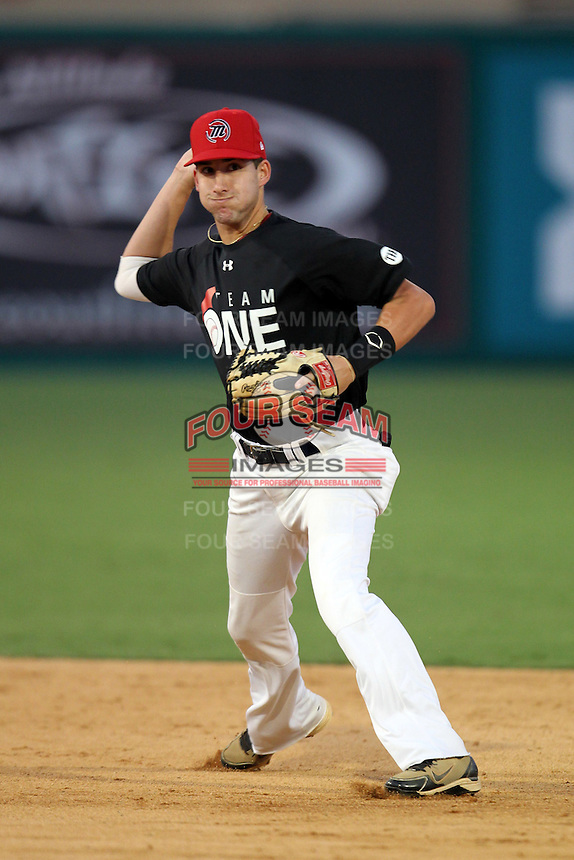 Blake Hennessey during the Team One Futures Showcase East at Roger Dean Stadium on October 1, 2011 in Jupiter, Florida.  (Mike Janes/Four Seam Images)