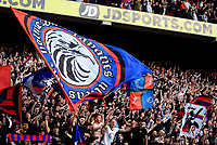 Crystal Palace fans celebrate after the final whistle during Crystal Palace vs Brighton & Hove Albion, Premier League Football at Selhurst Park on 14th April 2018