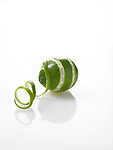 Fresh whole lime, zest