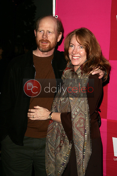 Ron Howard and Cheryl Howard<br />