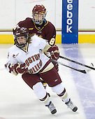 Mariia Posa (Minnesota-Duluth - 8), Laura Hart (BC - 27) - The University of Minnesota-Duluth Bulldogs defeated the Boston College Eagles 3-0 on Friday, November 27, 2009, at Conte Forum in Chestnut Hill, Massachusetts.