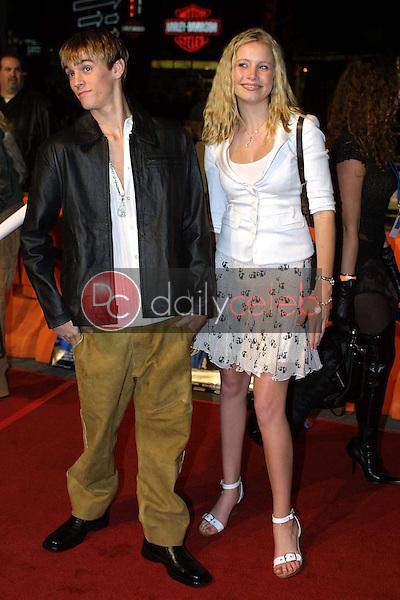 Aaron Carter and Alana Austin