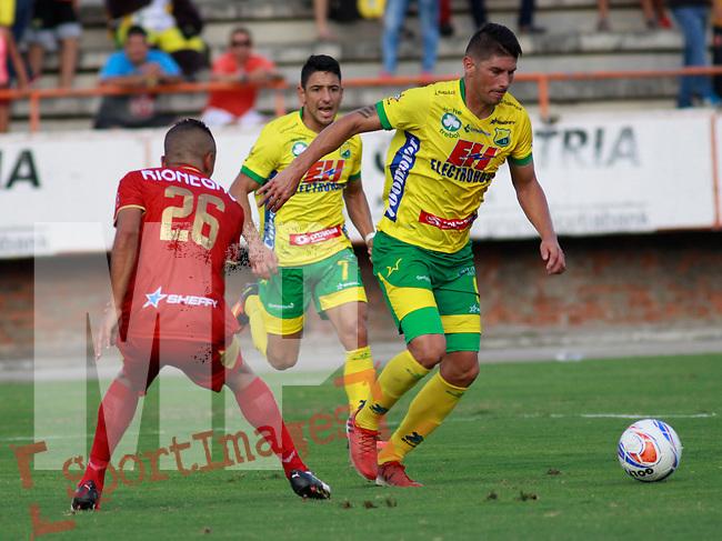 Atlético Huila venció como local 2-0 a Rionegro Águila. Fecha 6 Liga Águila II-2017.