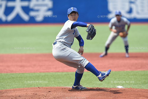 Kohei Miyadai,<br /> MAY 21, 2016 - Baseball : Kohei Miyadai of Tokyo University during the Tokyo Big 6 Baseball League Spring game between Hosei University 1-4 Tokyo University at Jingu Stadium in Tokyo, Japan.<br /> (Photo by Hitoshi Mochizuki/AFLO)