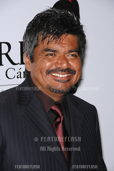 George Lopez at a fund-raising gala to benefit Padres Contra El Cåncer (parents against cancer) at The Lot, Hollywood..October 19, 2007  Los Angeles, CA.Picture: Paul Smith / Featureflash