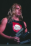 Slayer, jeff hanneman, Photo By David Plastik/IconicPix 1988 Los Angeles