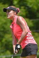 Lexi Thompson (USA) watches her tee shot on 11 during round 1 of the 2018 KPMG Women's PGA Championship, Kemper Lakes Golf Club, at Kildeer, Illinois, USA. 6/28/2018.<br /> Picture: Golffile | Ken Murray<br /> <br /> All photo usage must carry mandatory copyright credit (&copy; Golffile | Ken Murray)