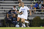 10 November 2012: Duke's Callie Simpkins. The Duke University Blue Devils played the Loyola University Maryland Greyhounds at Koskinen Stadium in Durham, North Carolina in a 2012 NCAA Division I Women's Soccer Tournament First Round game. Duke won the game 6-0.