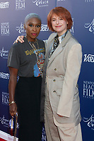 LOS ANGELES - NOV 3:  Cynthia Erivo, Jessie Buckley at the Newport Beach Film Festival Honors Featuring Variety 10 Actors To Watch at The Resort at Pelican Hil on November 3, 2019 in Newport Beach, CA
